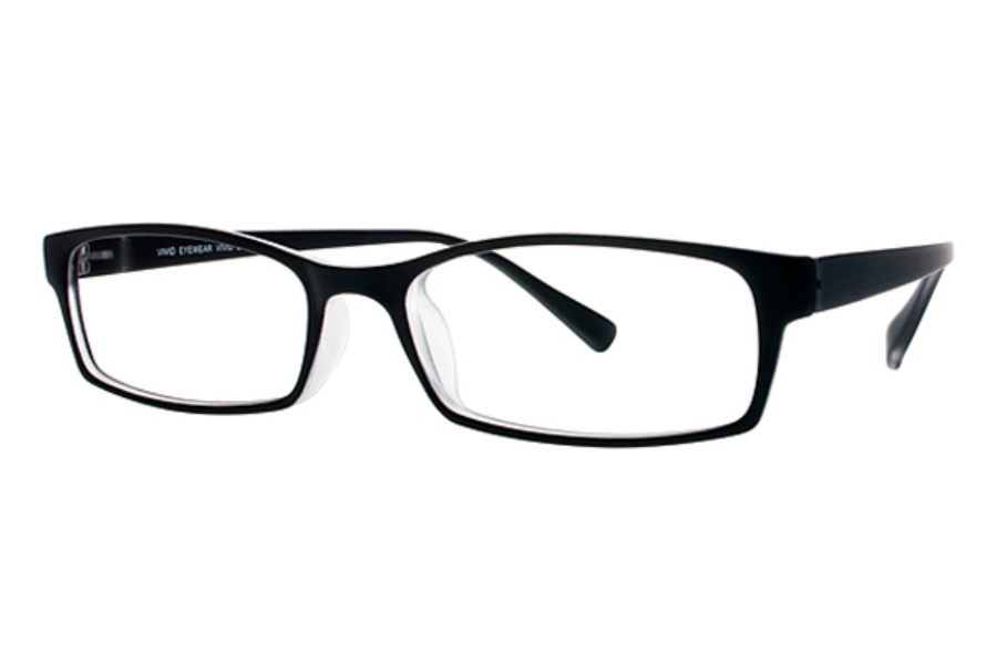 Vivid TR90 218 Eyeglasses in Black Matte